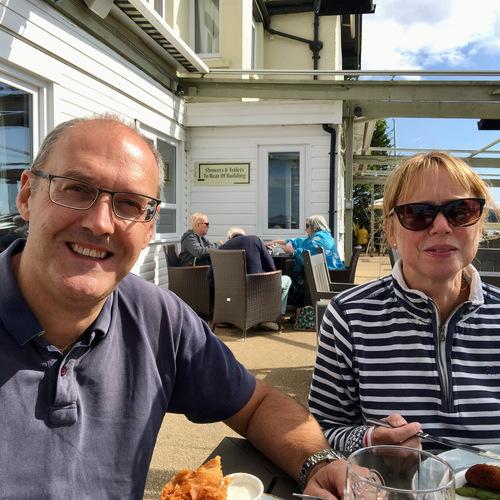 First trip to The Folly Inn, Cowes